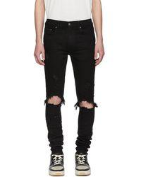 Amiri - Black Thrasher Jeans - Lyst