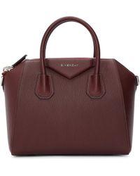 Givenchy - Purple Small Antigona Bag - Lyst