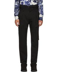 BED j.w. FORD - Black High-waisted Trousers - Lyst
