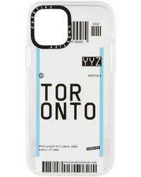 Casetify Toronto Yyz Iphone 12/12 Pro Impact Case - White