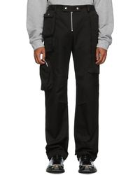 Spencer Badu Black Utility Trousers