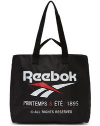 Reebok - Black Classic Printemps And Ete Tote - Lyst