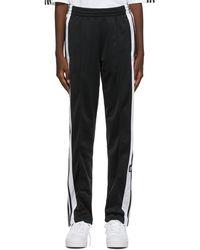 adidas Originals - ブラック Adicolor Classics Adibreak トラック パンツ - Lyst