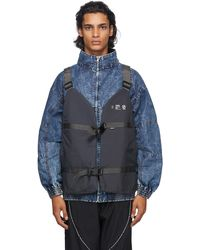 Neighborhood Grey N Cargo Vest
