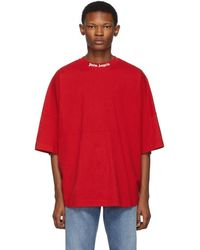 Palm Angels Red Logo T-shirt