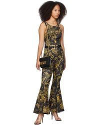 Versace Jeans Couture ブラック バックル ベルト