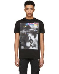 DSquared² - Black Savage Long Cool T-shirt - Lyst