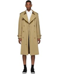 Burberry - Beige Westminster Heritage Trench Coat - Lyst