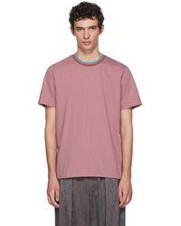 Marni - Pink Logo T-shirt - Lyst
