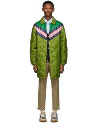Gucci Quilted Jacket - Green