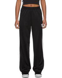 adidas Originals ブラック Firebird Tp ラウンジ パンツ