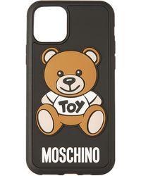 Moschino ブラック Teddy Bear Iphone 11 Pro ケース