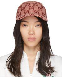Gucci Pink Wool Cap