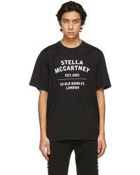 Stella McCartney - Shared コレクション ブラック オーガニック コットン 23 Obs T シャツ - Lyst