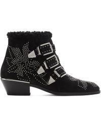 Chloé - Susanna Ankle Boots - Lyst