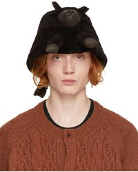 Doublet Chapeau noir en fourrure