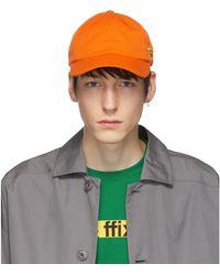 Affix オレンジ ロゴ Duty キャップ - マルチカラー