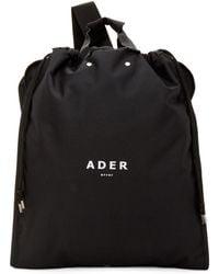 ADER error ブラック スーツケース バックパック