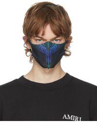 Marcelo Burlon ブラック Active フェイス マスク 3 枚セット