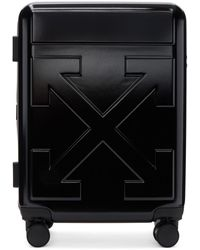 Off-White c/o Virgil Abloh Black Arrows Trolley Carry-on Suitcase