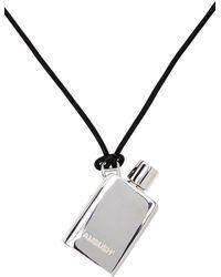Ambush - Collier à pendentif Perfume argenté - Lyst