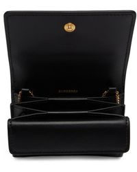 Burberry Black Quilted Jessie Card Case Bag