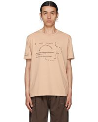 Bless T-shirt Multicollection II beige No69 Lost In Contemplation - Neutre
