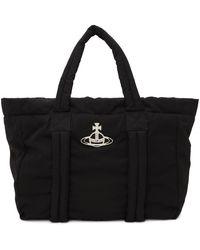 Vivienne Westwood Recycled Hilary Tote Bag - Black