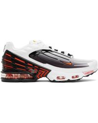 Nike Black & White Air Max Plus Iii Sneakers