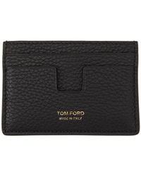 Tom Ford - ブラック クラシック カード ケース - Lyst
