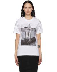 Wolford White Helmut Newton Edition Oversized T-shirt