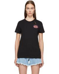 Off-White c/o Virgil Abloh - Black Daring Romance T-shirt - Lyst