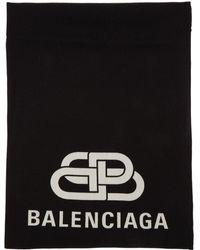 Balenciaga Foulard noir BB Blanket