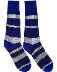Issey Miyake - Blue Sand Socks - Lyst