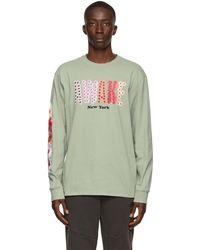 AWAKE NY Green Bloom Long Sleeve T-shirt