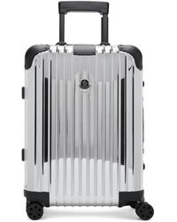 Moncler Genius Moncler Rimowa Reflection Silver Suitcase - Multicolour
