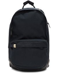 Visvim - Navy Cordura And Leather 22l Backpack - Lyst