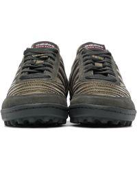 Craig Green Baskets vertes et dorées Kontuur III édition adidas