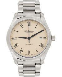 Ole Mathiesen Silver 1991 Heritage Watch - Metallic