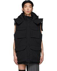 Hood By Air Backless Tie Vest - Black