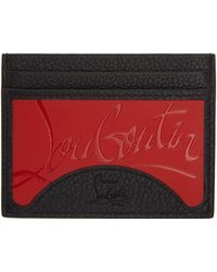 Christian Louboutin ブラック Kios カード ケース