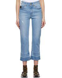 Versace Jeans Couture Blue Audrey Icon Jeans