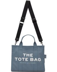Marc Jacobs Traveler Tote Small Blue Shadow
