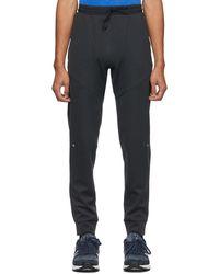 New Balance Black Q Speed Run Lounge Pants