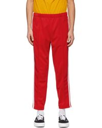Lacoste Red Ricky Regal Edition Piqué Trousers