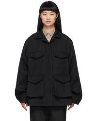 Totême Black Avignon Jacket