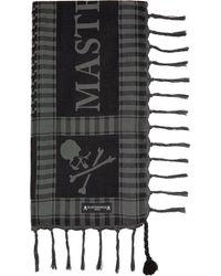 MASTERMIND WORLD - ブラック & グレー スカーフ - Lyst