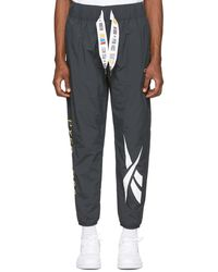 REEBOK X PYER MOSS Gray Collection 3 Woven Franchise Track Pants