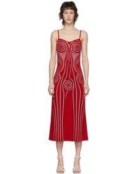 Y. Project レッド グラフィック パターン ドレス