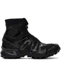 Salomon - ブラック Snowcross Advanced スニーカー - Lyst